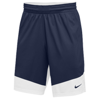 Nike Team Practice Shorts - Men's - Navy / White