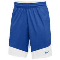 Nike Team Practice Shorts - Men's - Blue / White