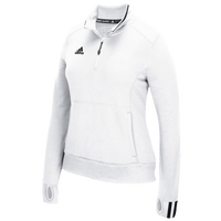 adidas Team Climalite 1/4 Zip - Women's - White / Black