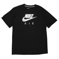Nike Graphic T-Shirt - Boys' Grade School - Black / White