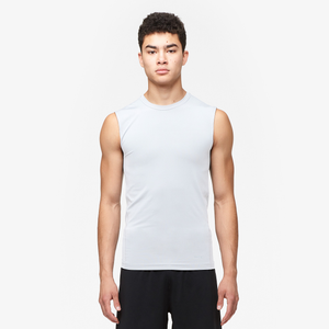 Eastbay EVAPOR Sleeveless Compression Top - Men's - White