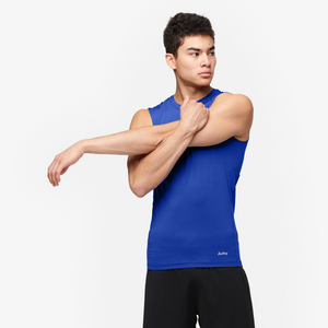 Eastbay EVAPOR Sleeveless Compression Top - Men's - Royal