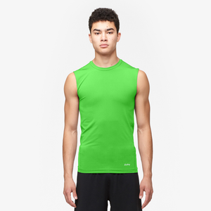 Eastbay EVAPOR Sleeveless Compression Crew - Men's - Rage Green