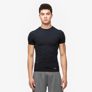 Eastbay EVAPOR Compression S/S Crew Top - Men's - Black