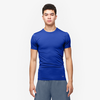 Eastbay EVAPOR Compression S/S Crew Top - Men's - Blue / Blue