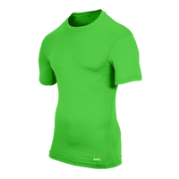 Eastbay EVAPOR Compression S/S Crew Top - Men's - Light Green / Light Green