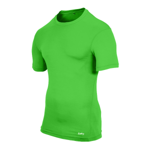 Eastbay EVAPOR Compression Crew - Men's - Rage Green