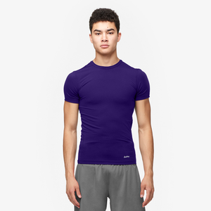 Eastbay EVAPOR Compression Crew - Men's - Purple