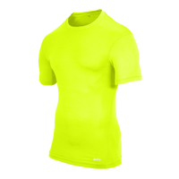 Eastbay EVAPOR Compression S/S Crew Top - Men's - Fierce Yellow