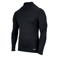Eastbay EVAPOR Compression Mock - Men's - All Black / Black