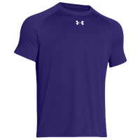 Under Armour Team Locker Shortsleeve T-Shirt - Men's - Purple / Purple