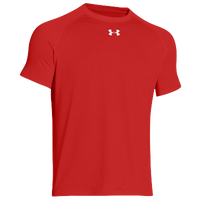 Under Armour Team Locker Shortsleeve T-Shirt - Men's - Red / Red