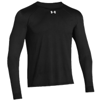 Under Armour Team Locker Longsleeve T-Shirt - Men's - All Black / Black