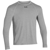Under Armour Team Locker Long Sleeve T-Shirt - Men's - Grey / Grey