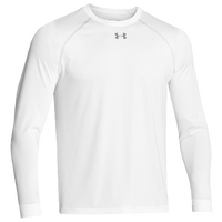 Under Armour Team Locker Longsleeve T-Shirt - Men's - All White / White