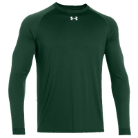 Under Armour Team Locker Long Sleeve T-Shirt - Men's - Dark Green / Dark Green