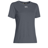 Under Armour Team Locker Short Sleeve T-Shirt - Women's - Grey / Grey