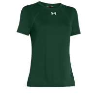 Under Armour Team Locker Short Sleeve T-Shirt - Women's - Dark Green / Dark Green