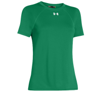 Under Armour Team Locker Short Sleeve T-Shirt - Women's - Green / Green