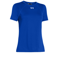 Under Armour Team Locker Short Sleeve T-Shirt - Women's - Blue / Blue