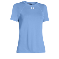 Under Armour Team Locker Short Sleeve T-Shirt - Women's - Light Blue / Light Blue