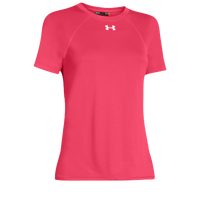 Under Armour Team Locker Short Sleeve T-Shirt - Women's - Pink / Pink