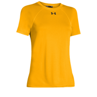 Under Armour Team Locker Short Sleeve T-Shirt - Women's - Gold / Gold