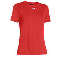 Under Armour Team Locker Short Sleeve T-Shirt - Women's - Orange / Orange