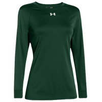 Under Armour Team Locker Long Sleeve T-Shirt - Women's - Dark Green / Dark Green