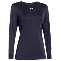 Under Armour Team Locker Long Sleeve T-Shirt - Women's - Navy / Navy
