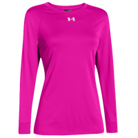 Under Armour Team Locker Long Sleeve T-Shirt - Women's - Pink / Pink