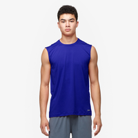 Eastbay EVAPOR Fitted Sleeveless Crew - Men's - Blue / Blue