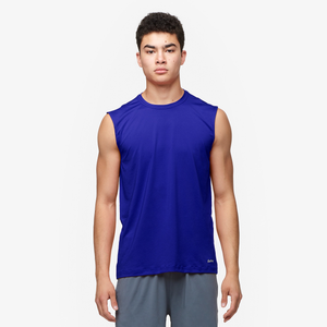 Eastbay EVAPOR Fitted Sleeveless Crew - Men's - Royal