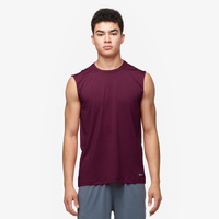 Eastbay EVAPOR Fitted Sleeveless Crew - Men's - Dark Maroon