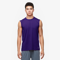 Eastbay EVAPOR Fitted Sleeveless Crew - Men's - Purple / Purple