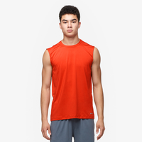 Eastbay EVAPOR Fitted Sleeveless Crew - Men's - Orange / Orange