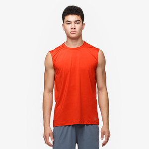 Eastbay EVAPOR Fitted Sleeveless Crew - Men's - Orange
