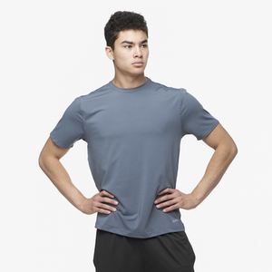 Eastbay EVAPOR Fitted Crew T-Shirt - Men's - Charcoal Heather