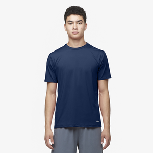 Eastbay EVAPOR Fitted Crew T-Shirt - Men's - Navy