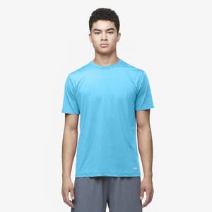 Eastbay EVAPOR Fitted Crew T-Shirt - Men's - Columbia Blue