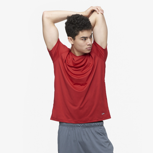Eastbay EVAPOR Fitted Crew T-Shirt - Men's - Scarlet