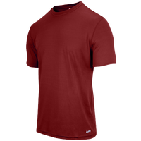 Eastbay EVAPOR Fitted Crew T-Shirt - Men's - Maroon / Maroon