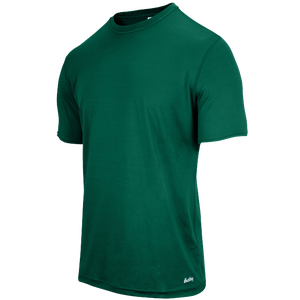 Eastbay EVAPOR Fitted Crew T-Shirt - Men's - Forest