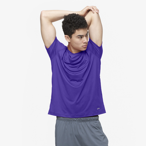 Eastbay EVAPOR Fitted Crew T-Shirt - Men's - Purple