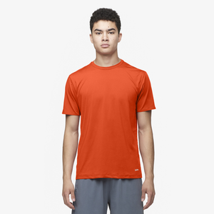 Eastbay EVAPOR Fitted Crew T-Shirt - Men's - Orange
