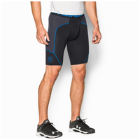 Under Armour Airvent Slider - Men's - Black / Light Blue