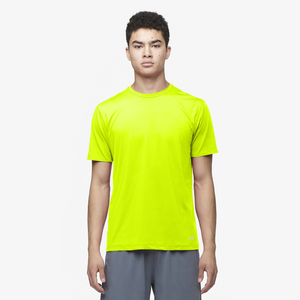 Eastbay EVAPOR Fitted Crew T-Shirt - Men's - Fierce Yellow