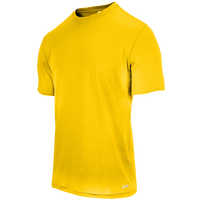 Eastbay EVAPOR Fitted Crew T-Shirt - Men's - Gold / Gold