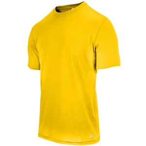 Eastbay EVAPOR Fitted Crew T-Shirt - Men's - Gold