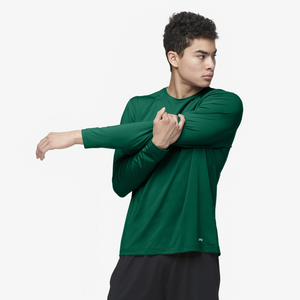 Eastbay EVAPOR Fitted Long Sleeve Crew - Men's - Forest